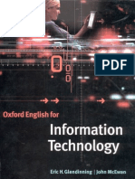 Oxford English for Info Mat Ion Technology - Students Book
