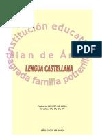 COMITÉ DE ÁREA LENGUA CASTELLANA 6º,7º,8º,9º 2012