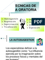 Tecnicas de La Oratoria 2011[1]