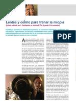 Lentes y Colirio Para Frenar La Miopia REVISION