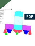 ortorrombico piramidal Maqueta