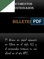 Documentos dos Expo de Billetes