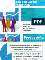 Education and Labour Productivity