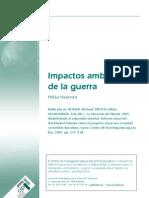 HAAVISTO, Pekka, Impactos Ambient Ales de La Guerra