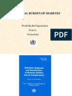 Global Burden Diabetes