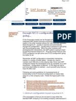 SAP FICO Config Minimum for Posting