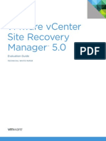 VMware vCenter Site Recovery Manager Evaluation Guide