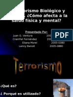 El Terrorismo Biológico y Químico