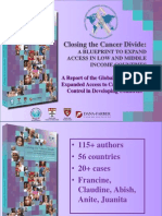 A Report of the Global Task Force on Expanded Access to Cancer Care and Control in Developing Countries 281011