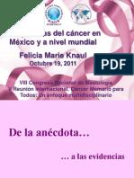 Perspectivas del cáncer en México y a nivel mundial 191011