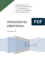 Trabajo Inteligencia Emocional