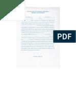 Acta Notarial de Probidad examen privado Usac