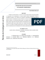 ANÁLISIS TÍPICO DEL DELITO DE COLUSIÓN Y tratamiento jurisprudencial