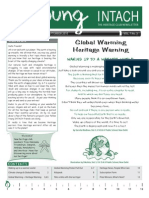 Global Warming and Heritage Warning-jul-sep10