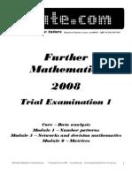 Itute 2008 Exam 1
