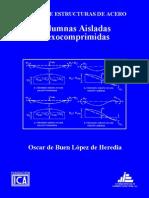 Oscar de Buen Lopez de Heredia - Columnas Aisladas Flexocomprimidas