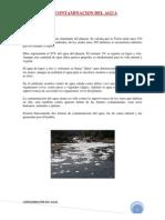 La Contaminacion Del Agua Luis Alonso