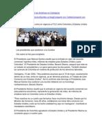 Cierre de la Cumbre de las Américas en Cartagena
