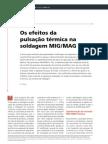 Os Efeitos da Pulsação Térmica na Soldagem MIG/MAG