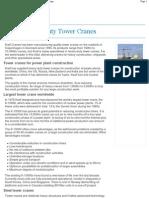 Kroll Tower Cranes
