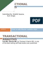 Transactional Analysis (1)