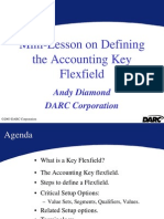 Mini Lesson on Defining Accounting Flexfield