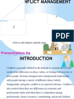 Presentation Conflict
