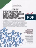 Los Agrupamientos de Empresas Para Conquistar Mercados Internacionales