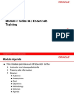 Siebel 8.0 Essentials Training