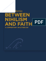 Karsten Harris ~ Between Nihilism and Faith [a Commentary on or (de Gruyter 2010)