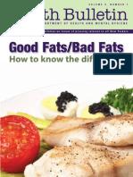 Bedakan Lemak Baik Dan Lemak Jahat - Good Fat or Bad-English