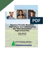 Next Generation Transition Plan Final Report