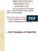 Attributes and Skill Required of a Counsellor 2