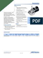 RAA30 Gear Motors Specifications R1