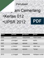 Latihan Set 1 Kertas 012
