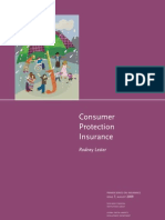 Consumer Protection Insurance