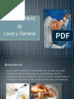 Anestésico