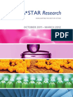 A*STAR Research October 2011-March 2012