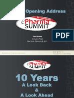 Ivans_2011 ePharma Summit Keynote_02!07!11 SUMM