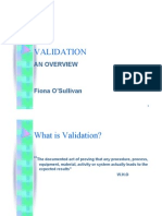 3 Validation - An Overview