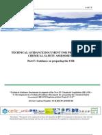 Guidance on Preparing the CSR