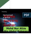 Servo Electric Guitar