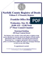 Norfolk Registrar of Deeds_Franklin Office Hours