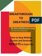 Breakthrough to Greatness
