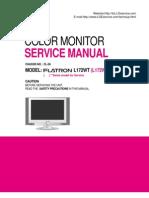 LG Flatron L172WT_LCD Monitor Service Manual