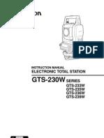 Topcon User Manual 230