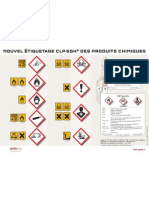 Affiche Etiquetage CLP-SGH