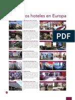 Hoteles incluidos en tours de Mapaplus en Europa 2012