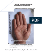 THE HEAD (AIR) LINE  OR LOWER TRAVERSE LINE AND PSYCHODIAGNOSTIC CHIROLOGY - A CASE STUDY