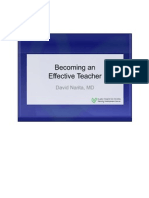 Effective Teacher Lecture